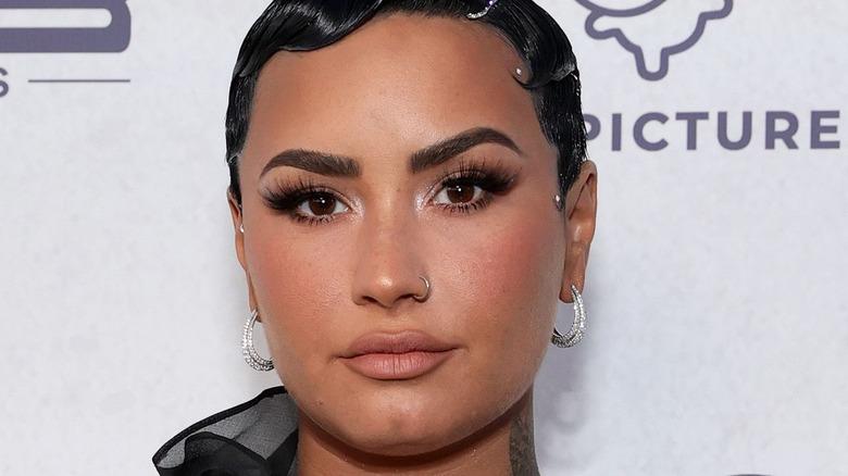 """Demi Lovato at premiere of """"Demi Lovato: Dancing With The Devil"""