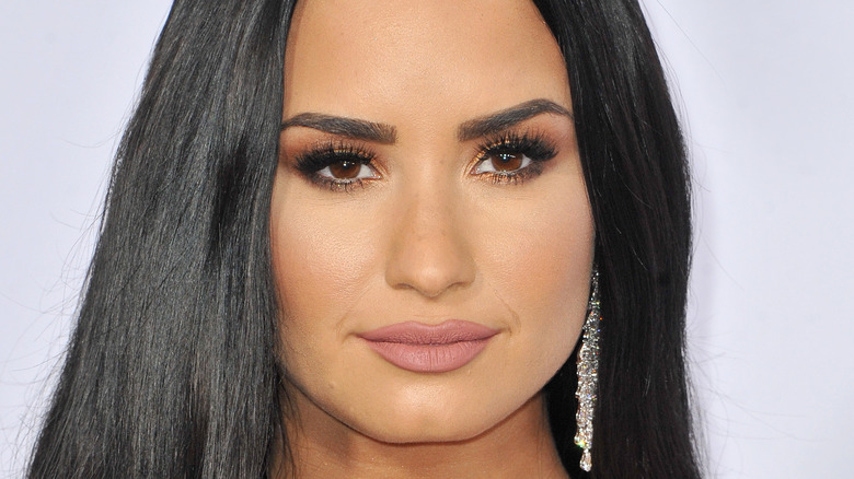 Demi Lovato at 2017 American Music Awards