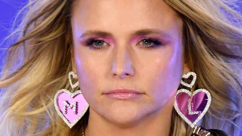 Miranda Lambert earrings ACMs