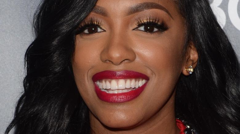 RHOA porsha williams red lip smile