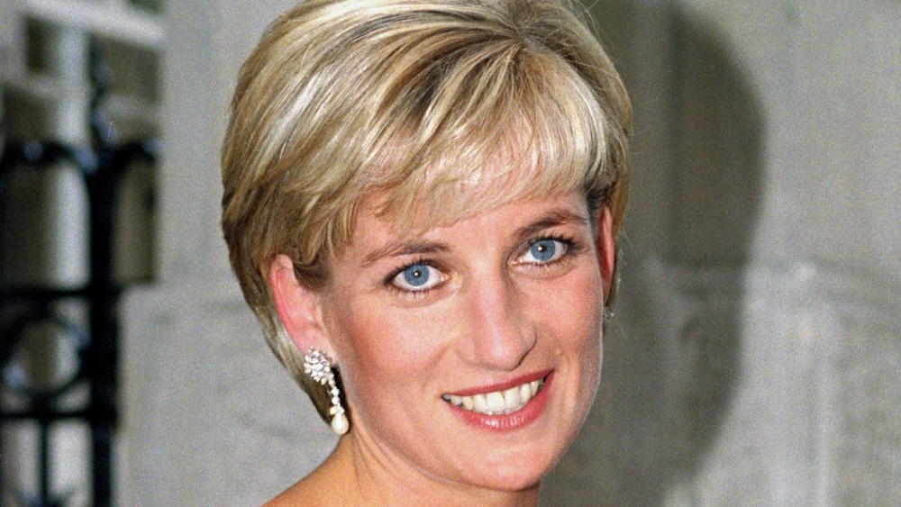 Princess Diana attends gala