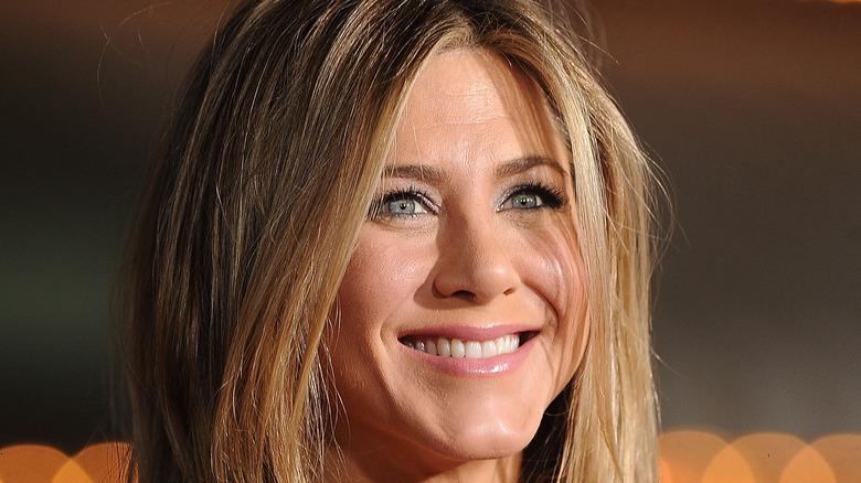 Rachel Aniston on the red carpet