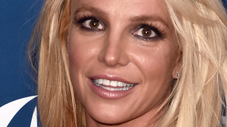 Britney Spears wide eyes