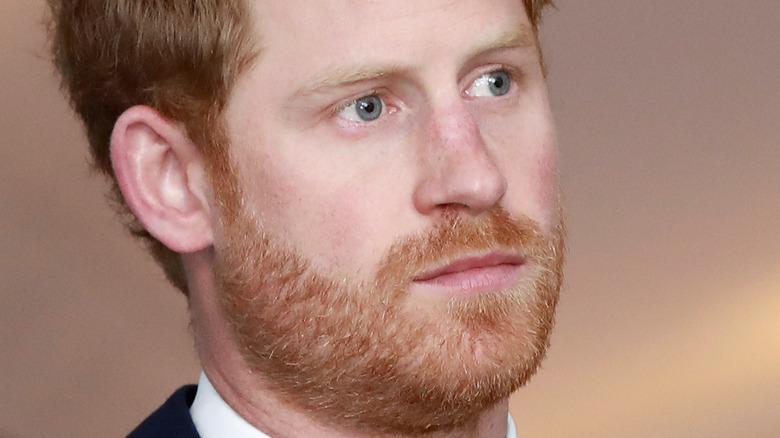 Prince Harry scruffy beard