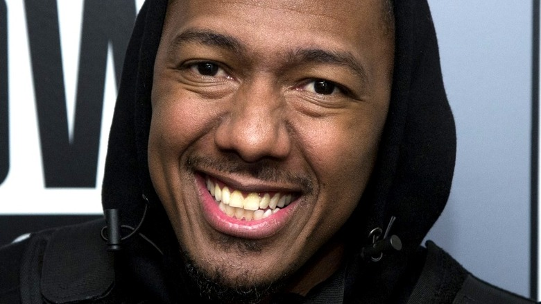 Nick Cannon smiling