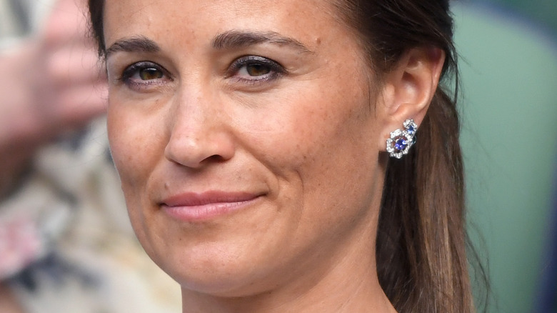 Pippa Middleton at a sporting match