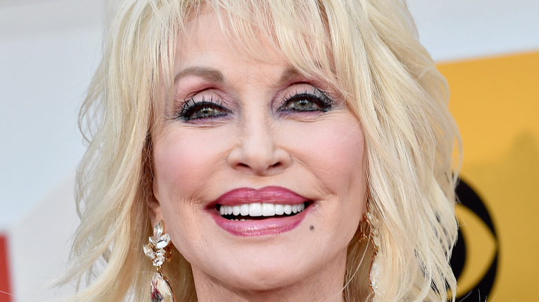 Dolly Parton attending the 51st Academy of Country Music Awards