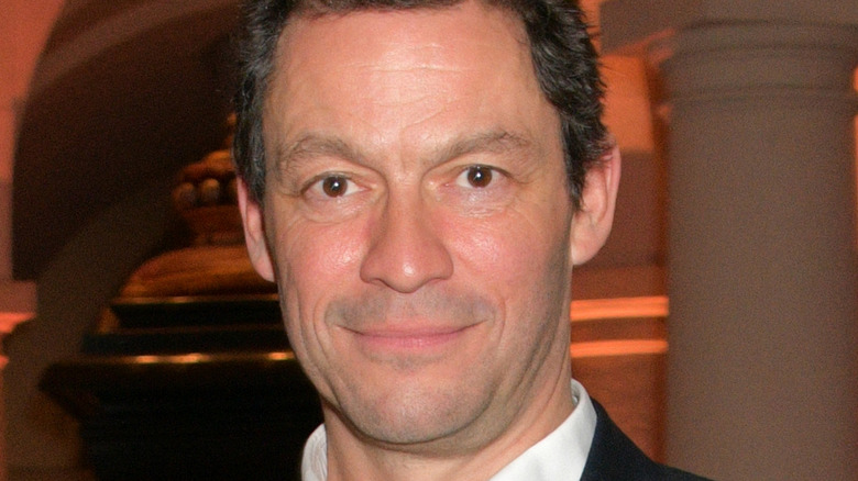 Dominic West on a red carpet