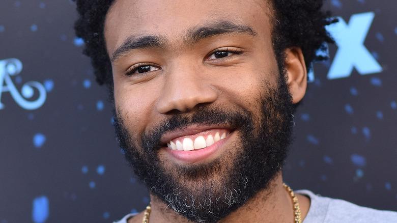 Donald Glover big smile