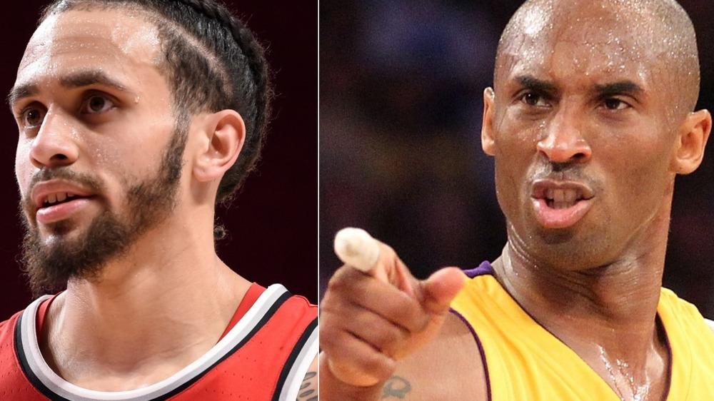 Duane Washington Jr. and Kobe Bryant composite