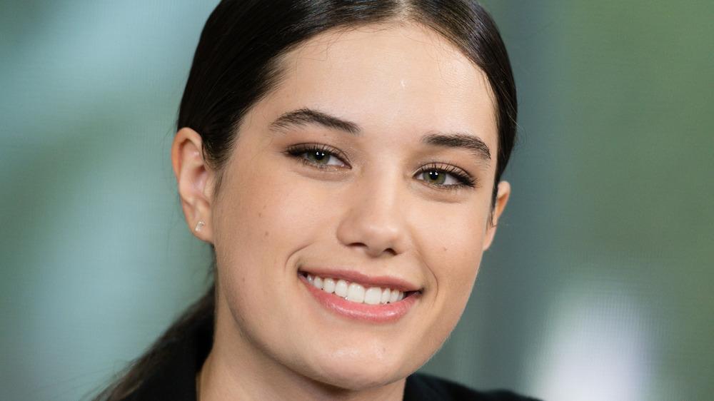 Ella Travolta smiling