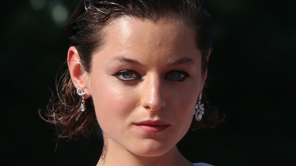 Emma Corrin, red carpet