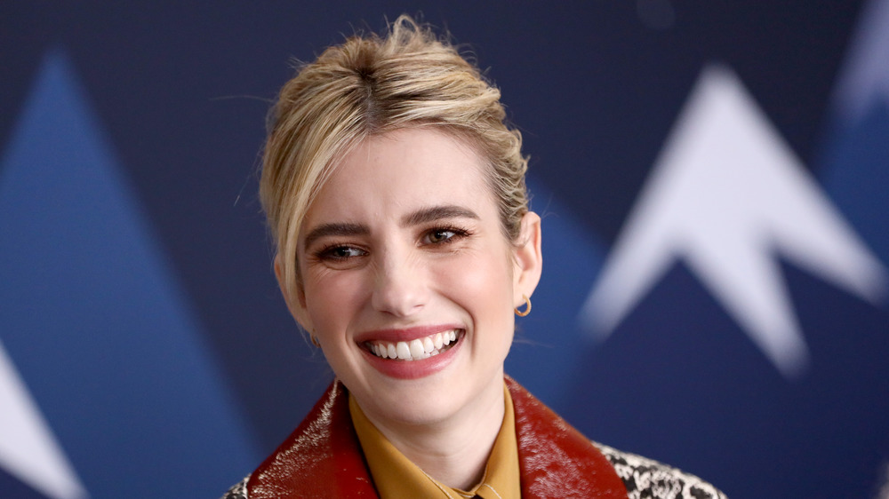 Emma Roberts smiling