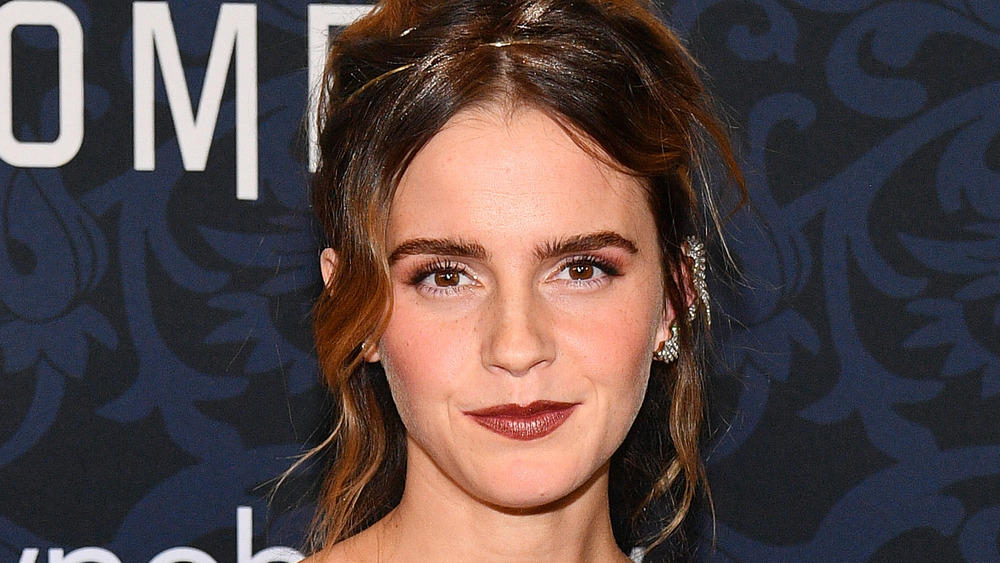 Emma Watson poses at the 'Little Women' premiere in 2019