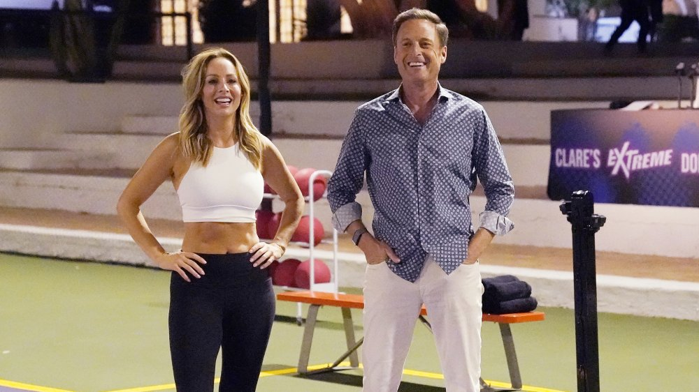 Clare Crawley and Chris Harrison
