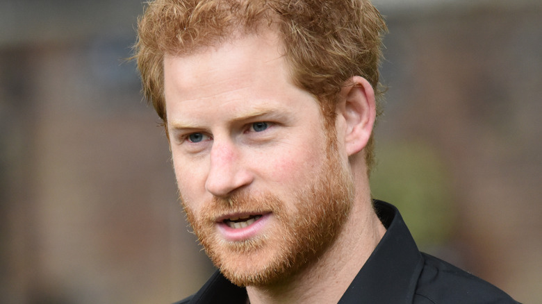 Prince Harry at Invictus Games event