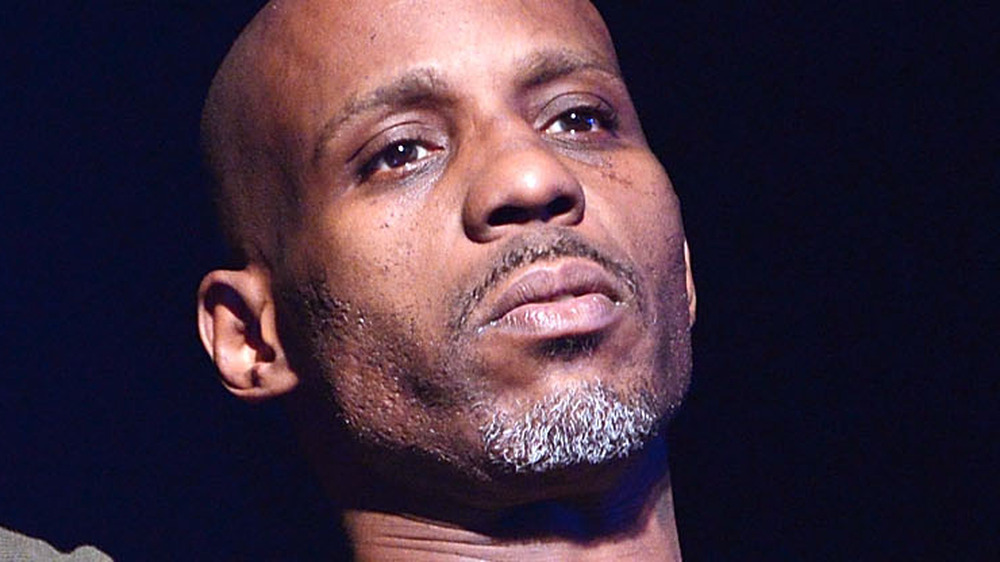 DMX performing at an event