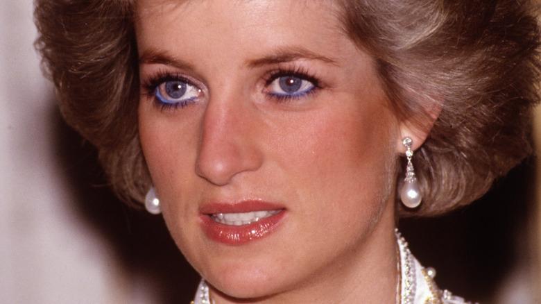Princess Diana blue eyes