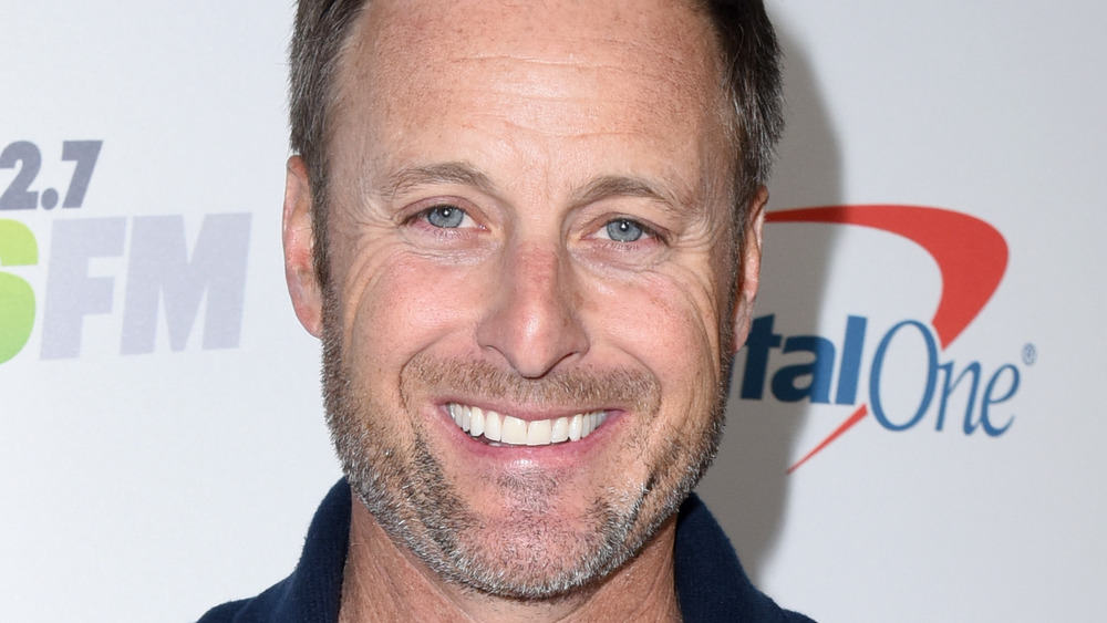 Chris Harrison smiling at an event