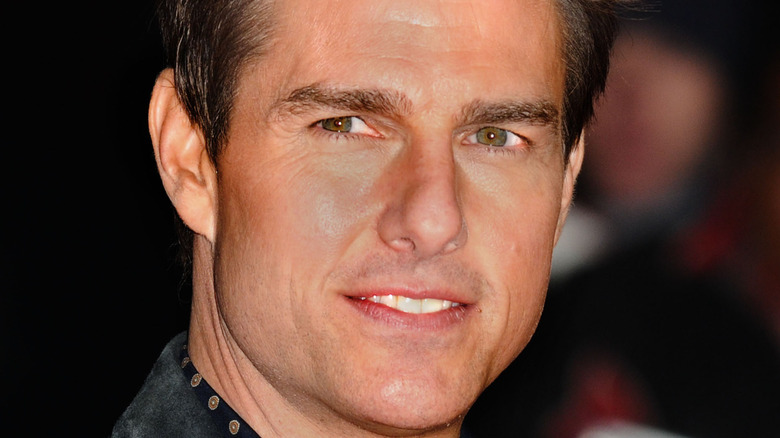 Tom Cruise looking to the side