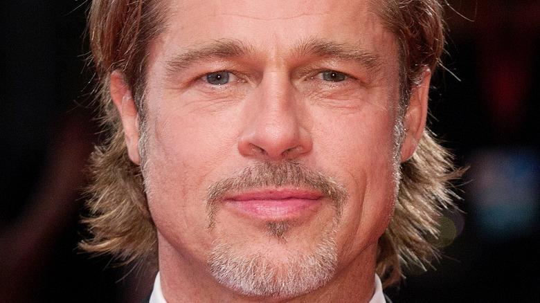 Brad Pittt smiling