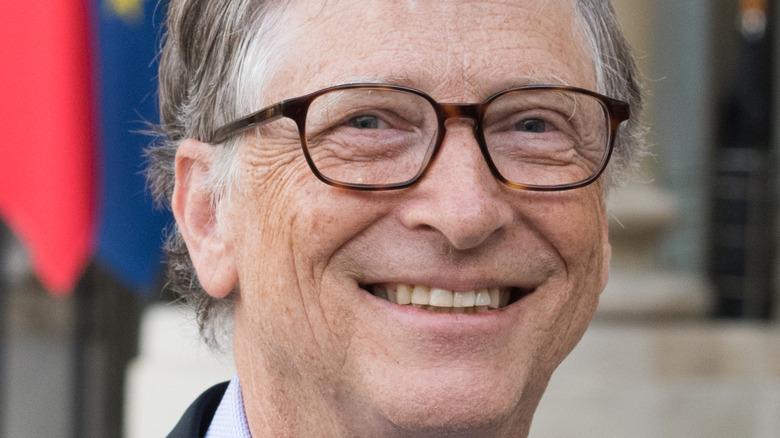 Bill Gates smiling