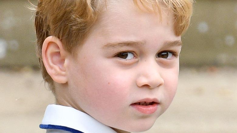 prince george looking back