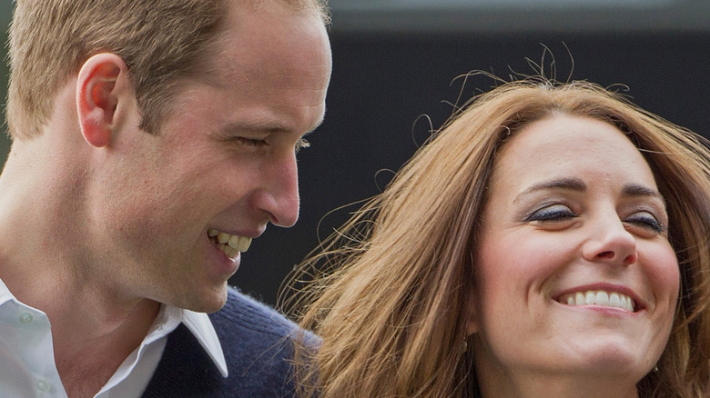 Prince William and Kate Middleton attending Rippa Rugby