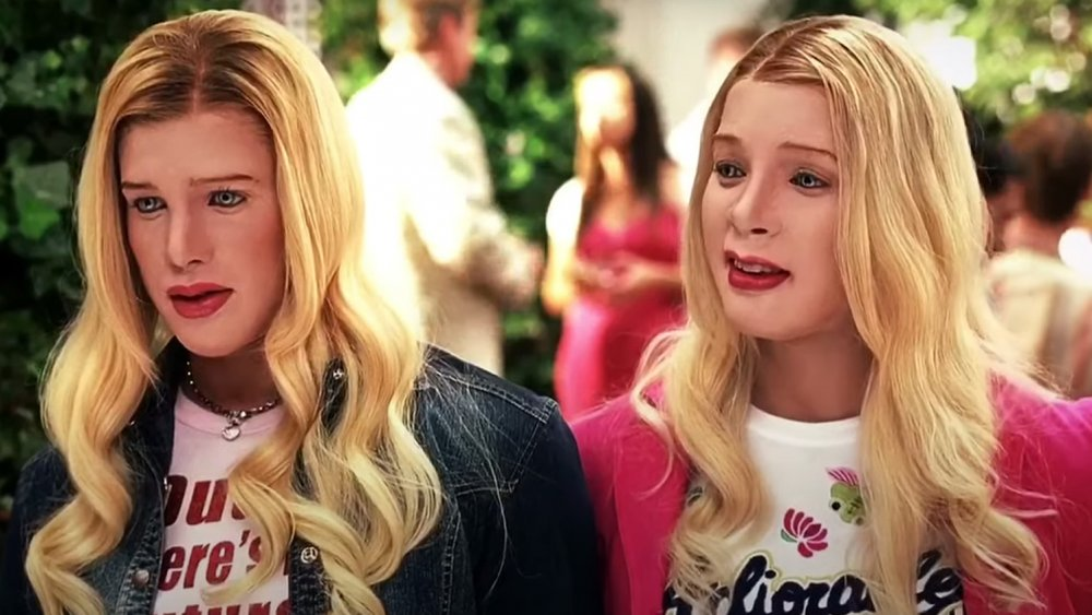Shawn and Marlon Wayans in a scene from White Chicks