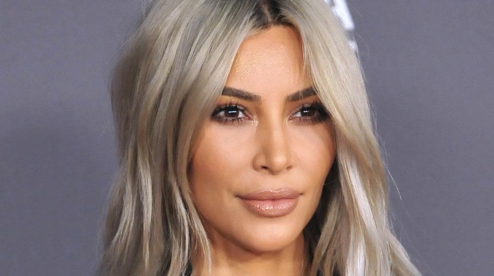 Kim Kardashian at a gala