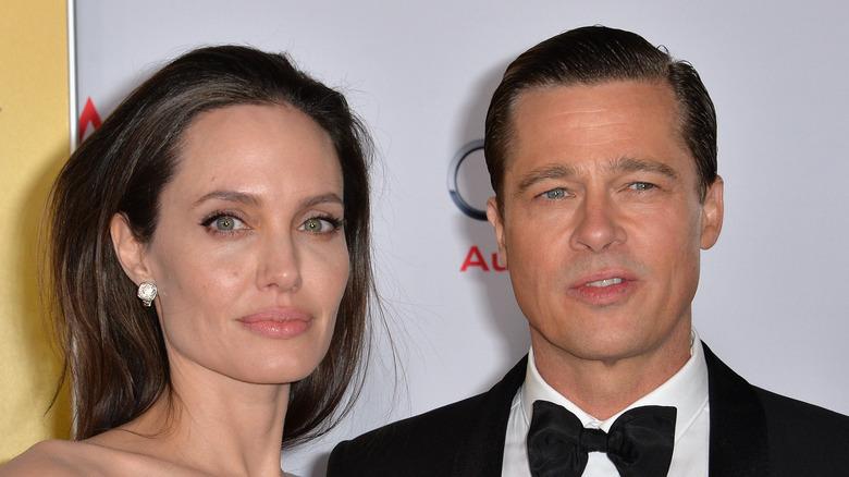 Brad Pitt and Angelina Jolie, red carpet