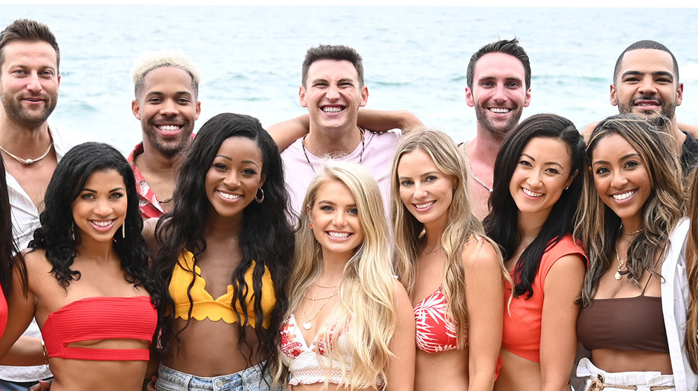 The cast of Bachelor in Paradise on the beach