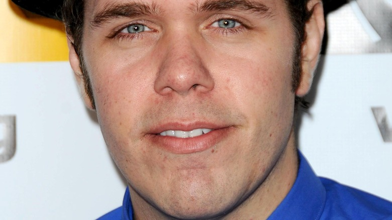 Perez Hilton with a neutral expression