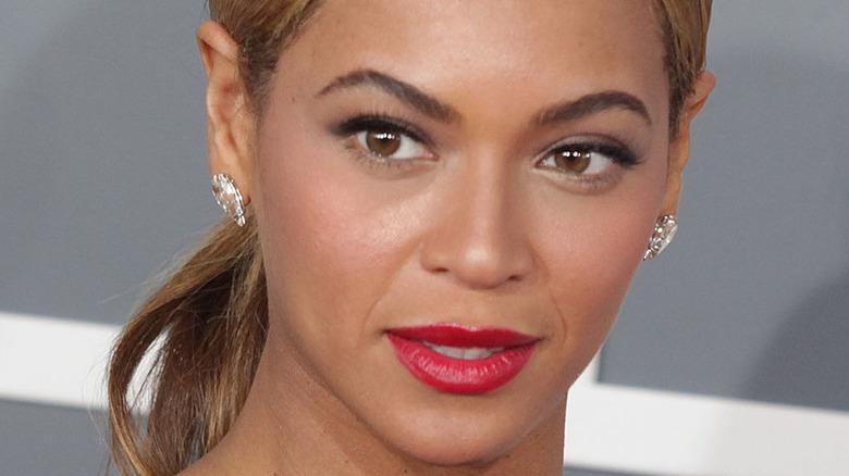 Beyonce, Grammys red carpet