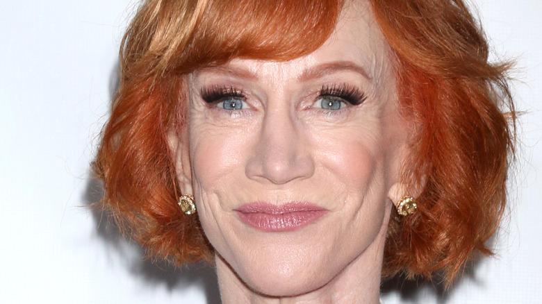 Kathy Griffin smile