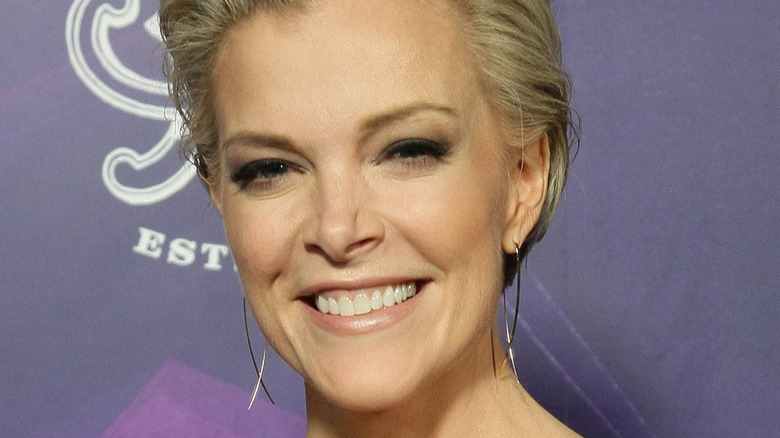 Smiling Megyn Kelly on the red carpet at Childhelp's 15th annual Drive The Dream Gala 2019