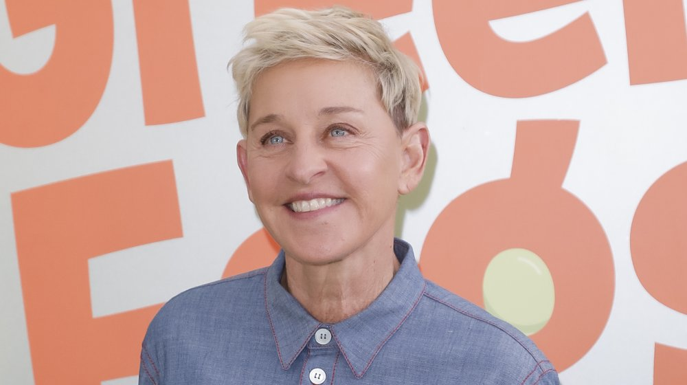 """Ellen DeGeneres attends the premiere of Netflix's """"Green Eggs And Ham"""" at Hollywood American Legion"""