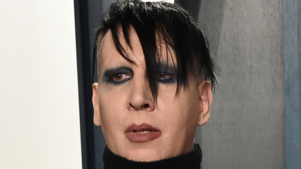 Marilyn Manson turtleneck