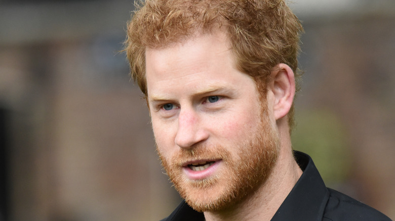 Prince Harry at Invictus Games tournament