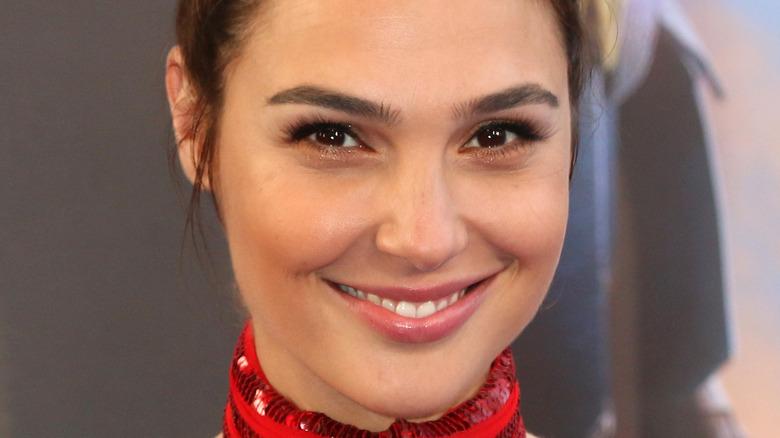 Gal Gadot smiling on red carpet