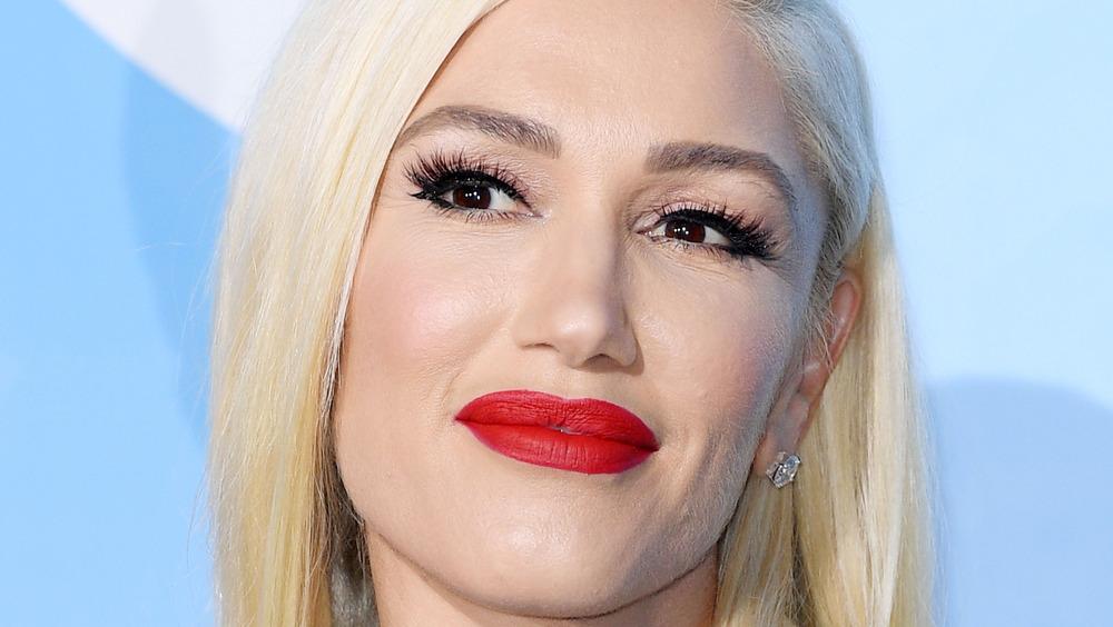 Gwen Stefani looking off