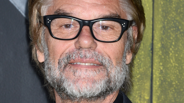 Harry Hamlin with beard and glasses in 2017
