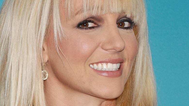 Britney Spears bangs