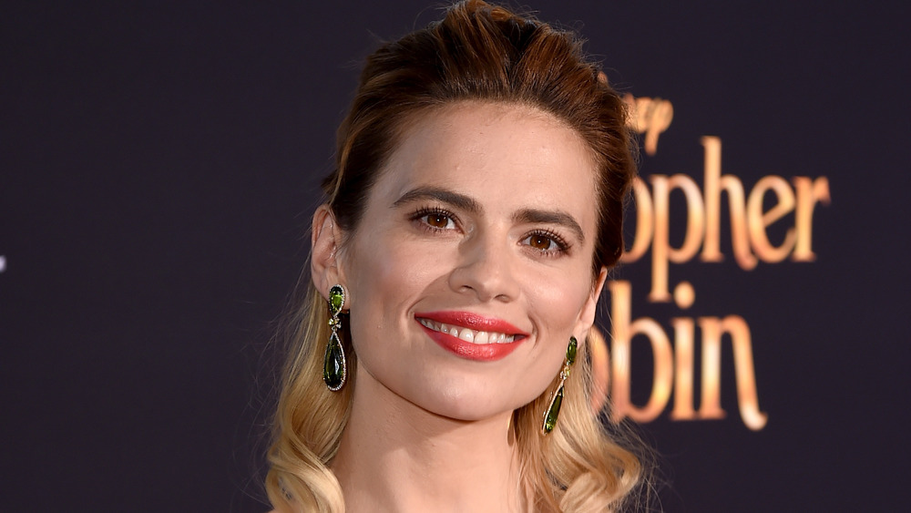 Hayley Atwell smiling