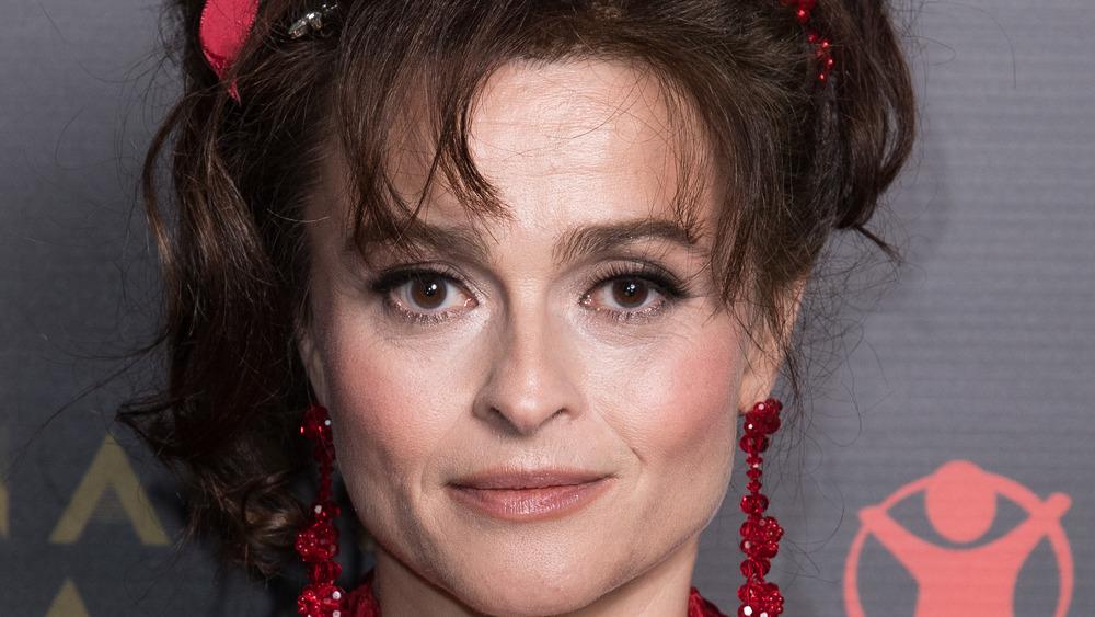 Helena Bonham Carter smiling