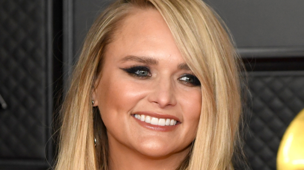 Miranda Lambert attends the Grammys