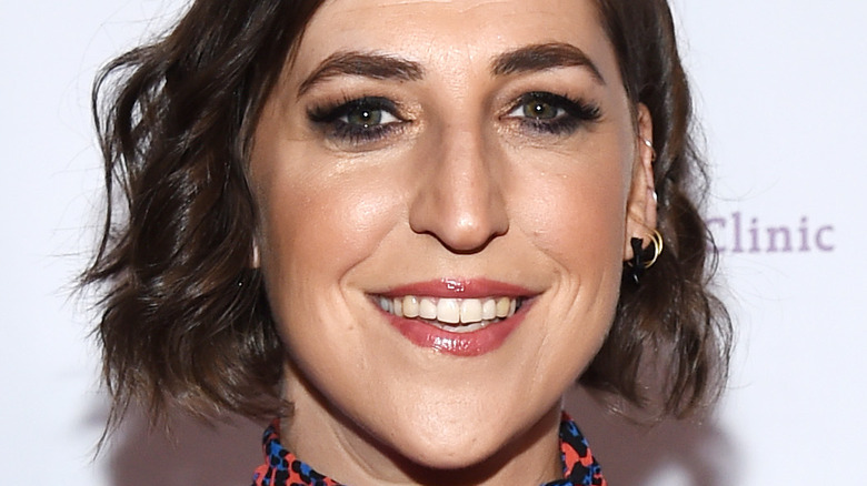 Mayim Bialik arrives at the Saban Community Clinic's 43rd Annual Dinner Gala 2019