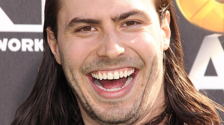 Andrew W.K. smiling