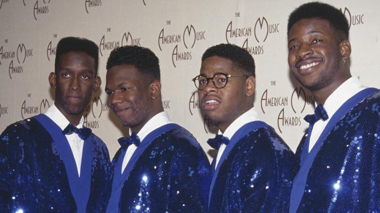 Boyz II Men at the American Music Awards