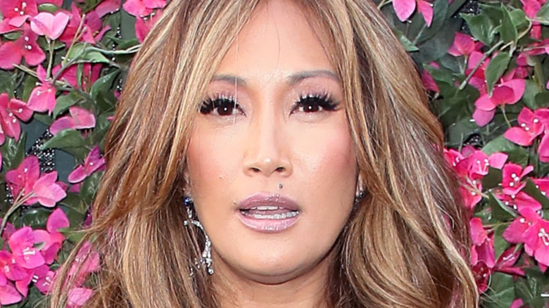 Carrie Ann Inaba posing for photos